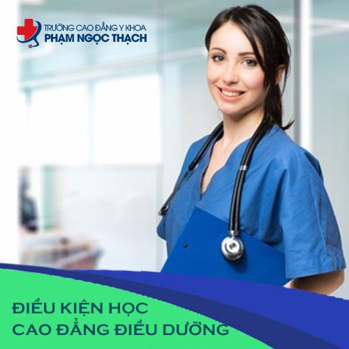 Điều kiện xét tuyển Cao đẳng Điều dưỡng TPHCM năm 2018