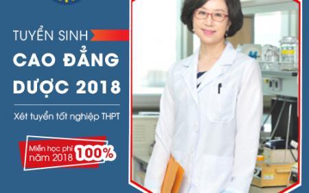 Cao đẳng dược chính quy Hà Nội tuyển sinh 2018, xét học bạ THPT